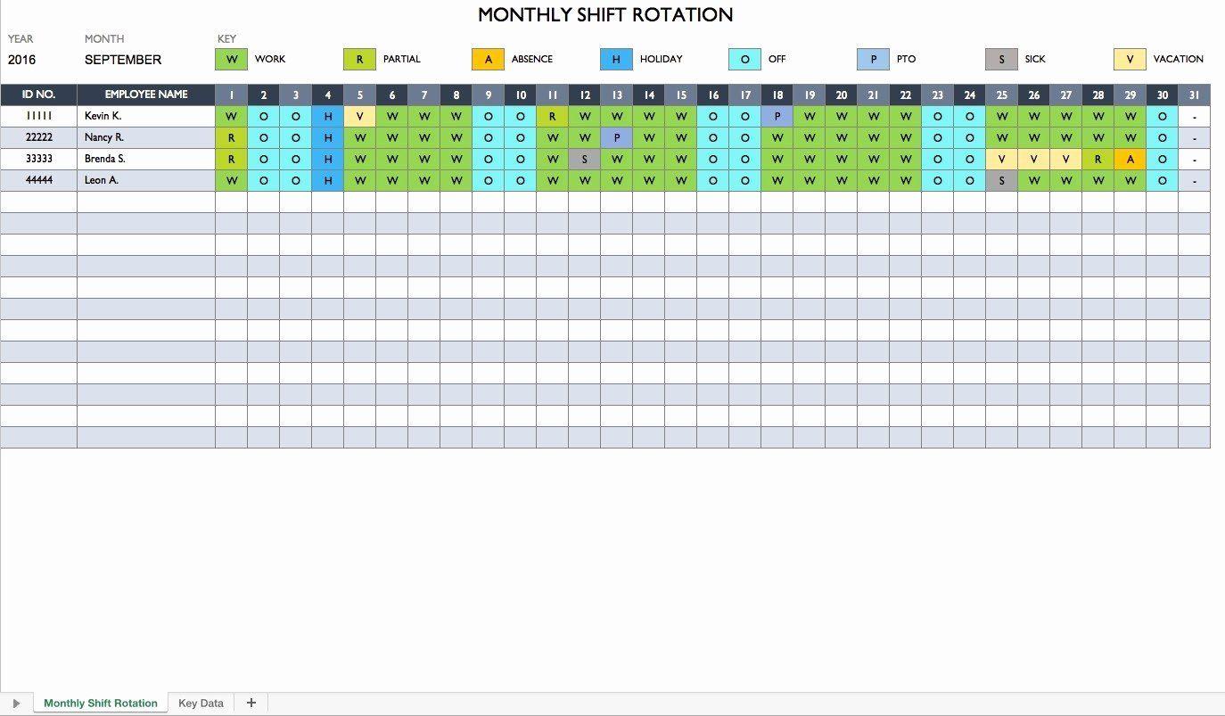 12 Hour Schedule Template Elegant 12 Hour Shift Schedules