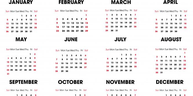 2020 Calendar No Download | Printable Calendar Free