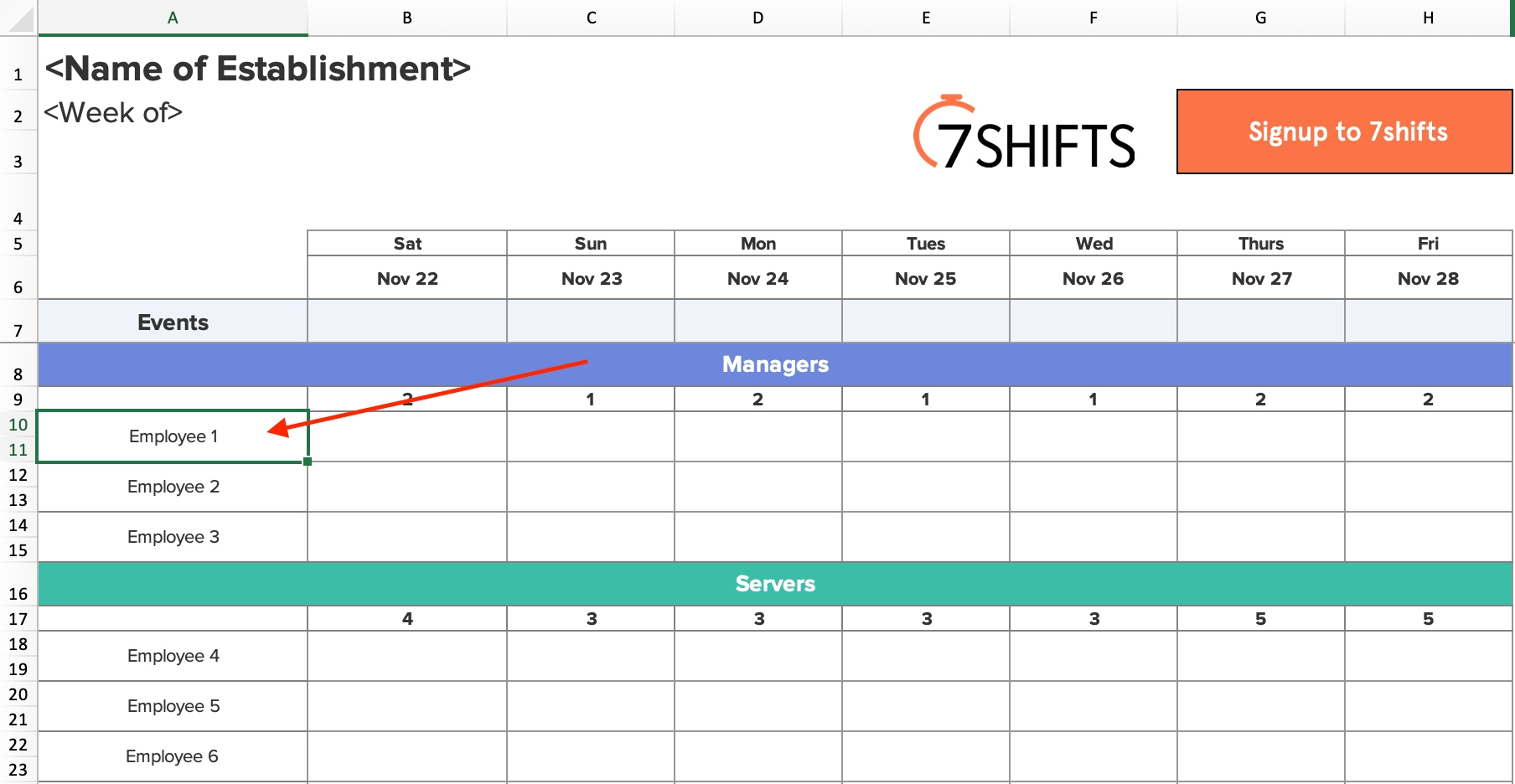 8 Hour Shift Worker Calendar   Calendar Template 2021