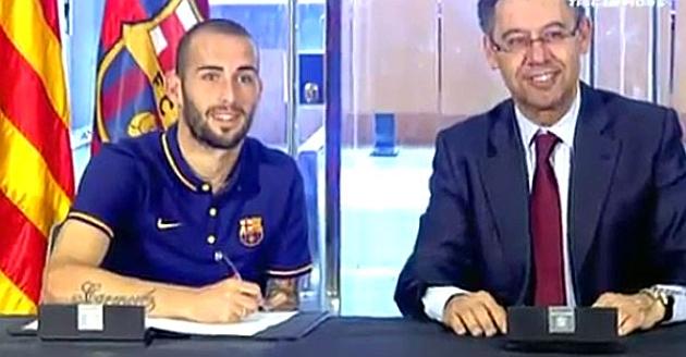Barcelona: Aleix Vidal Firmó Su Contrato - Marca