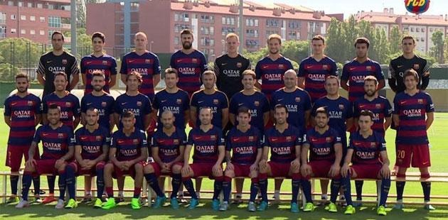 Barcelona: Sesión De Fotos En 'Can Barça' - Marca