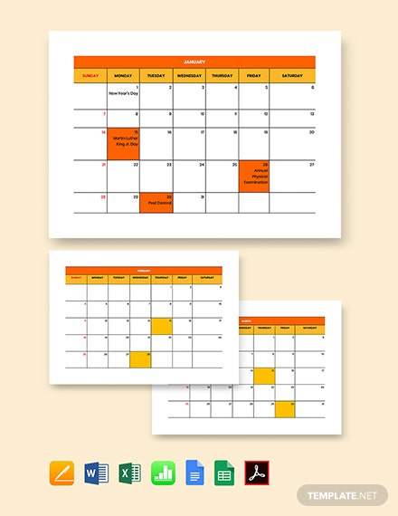 Bi-Weekly Payroll Calendar Template - Pdf   Word   Excel