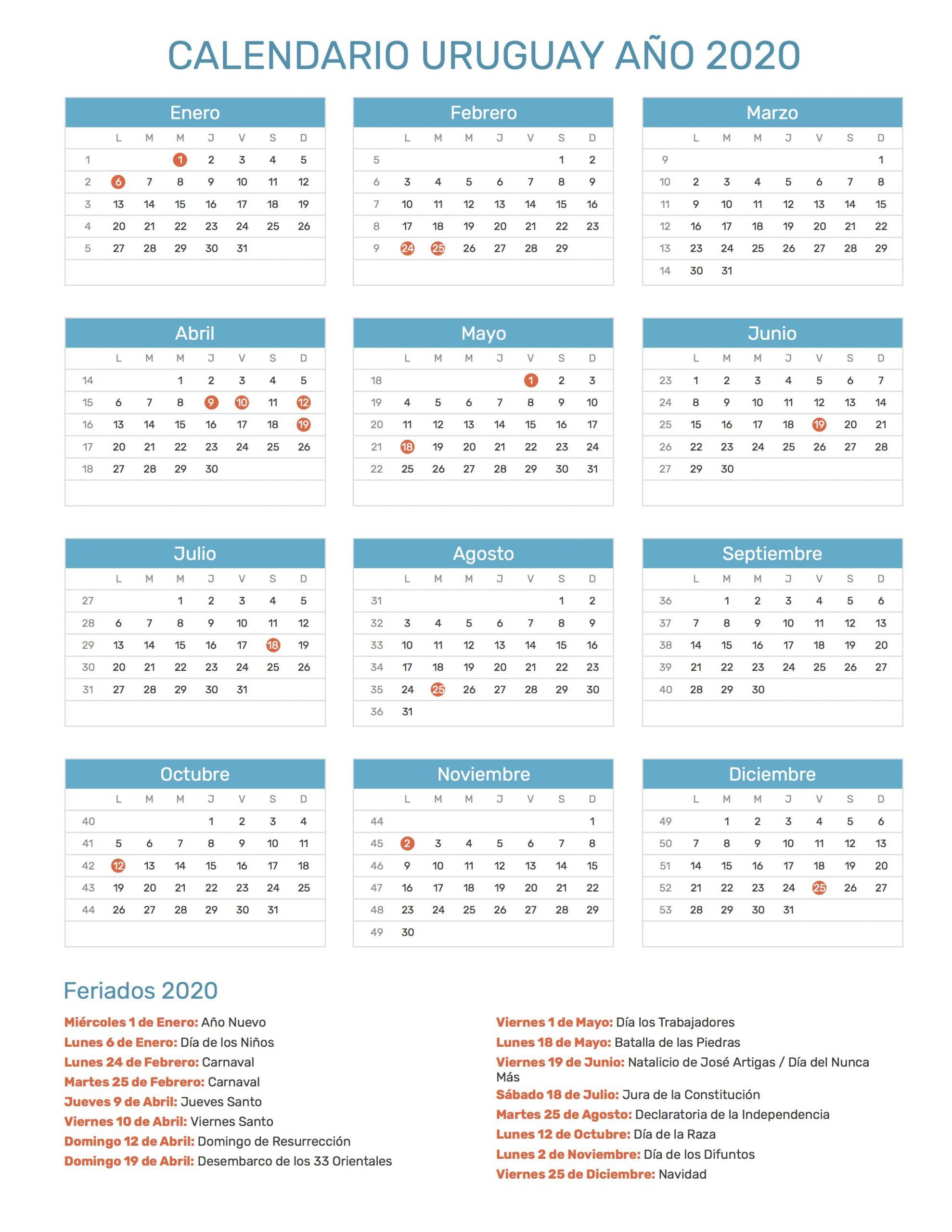 Calendario Juliano 2020 Pdf | Calendar Template Printable