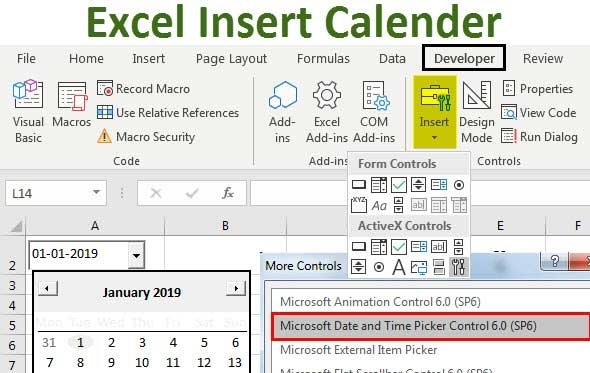 Can You Make Date Drop Down Pickers In Excel Image