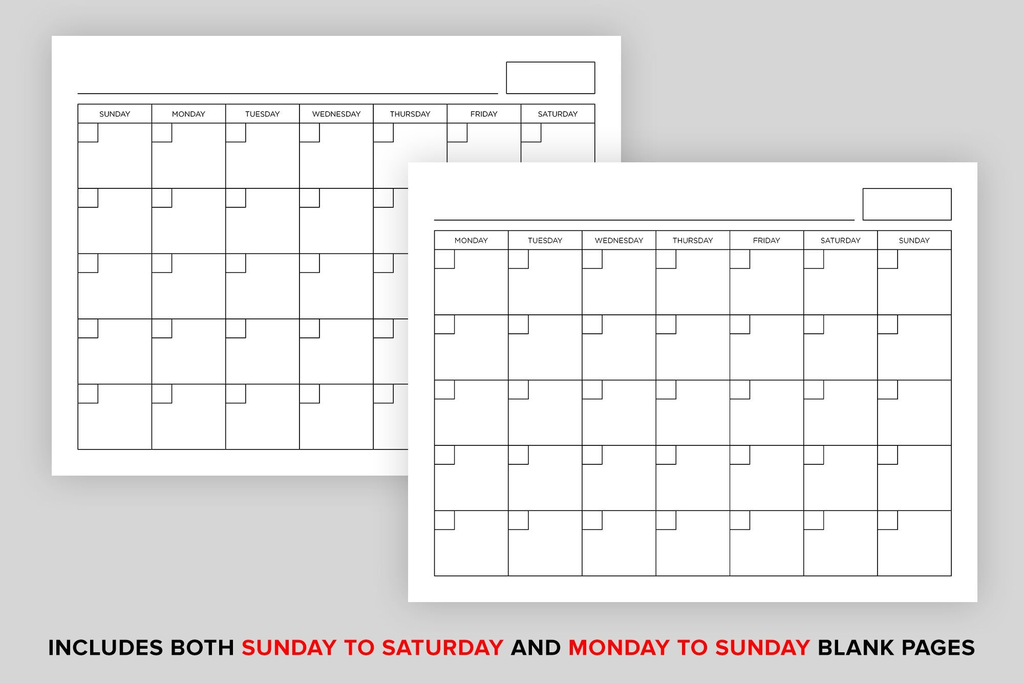 Create Your 8 X 11 Calendar Pages | Get Your Calendar