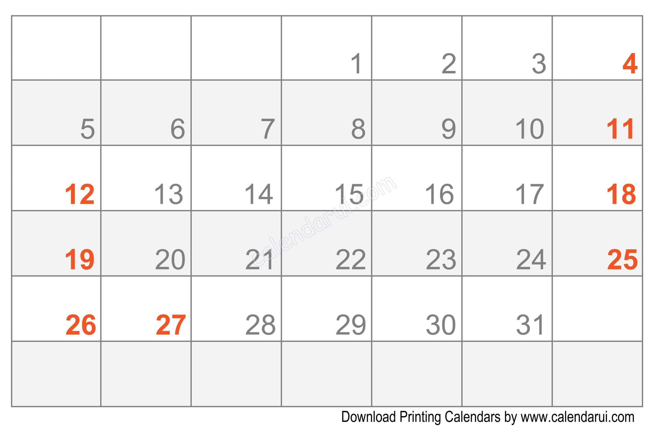 Easy Fill In Calendar | Calendar Template, Free Calendar