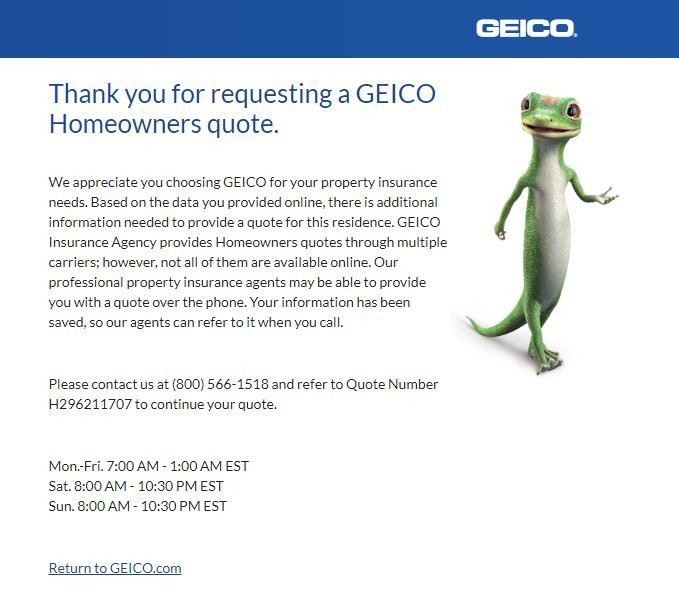 Geico Home Insurance Review 2020 Beware Before You Buy In