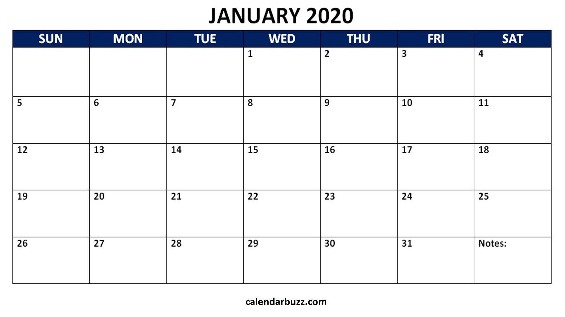Universal Monthly Calendars You Can Edit | Get Your