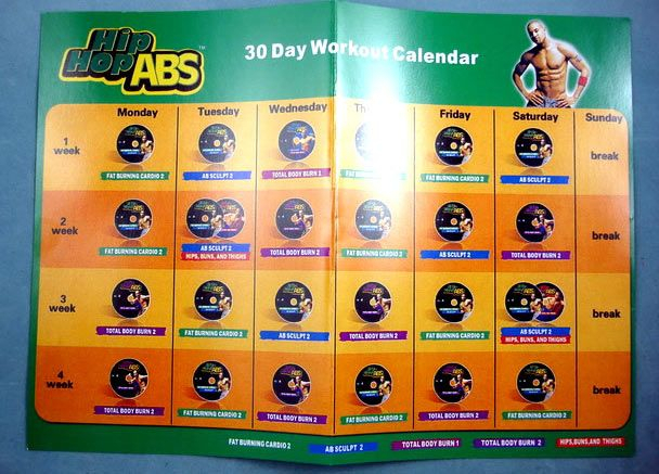 17 Best Health & Fitness: Workout Calendars Images On
