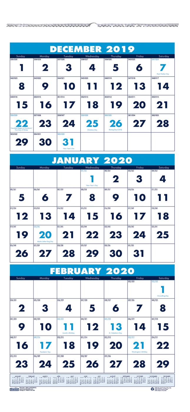 3 Month 2020 Calendar | Free Printable Calendar