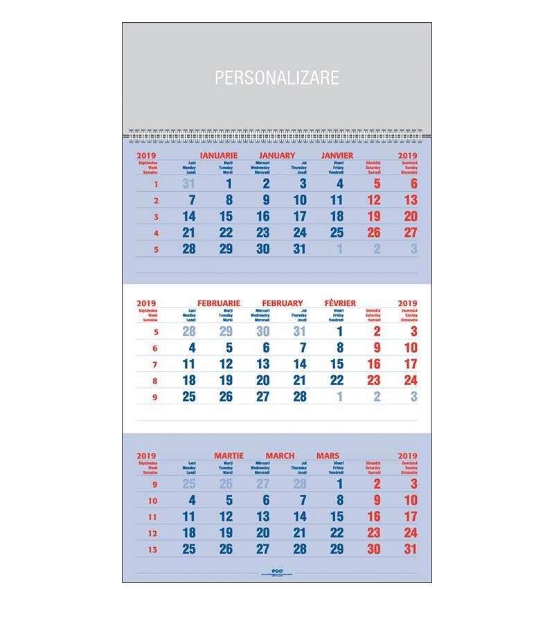 Calendar Cu Saptamani 2019 - Iasj