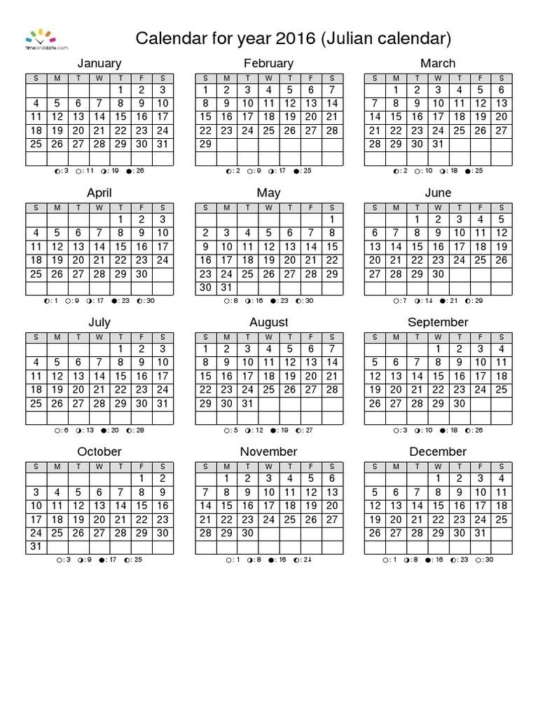 Calendario Juliano 2020 Pdf | Calendar Template 2020