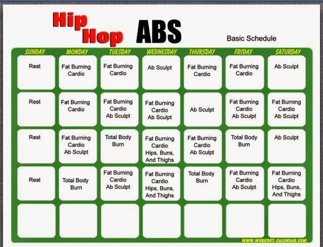 Hip Hop Abs Level 2 Calendar Photo | Calendar Template 2020