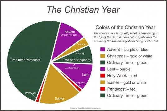 Umc 2020 Liturgical Calendar With Colors | Printable