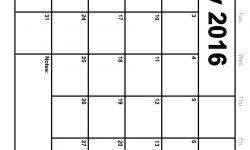 Printable 2016 Calendar By 3 Months | Calendar Template 2017